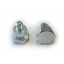 Adaptér strunové hlavy TECOMEC šroub M10 X 1,25 mm levý závit