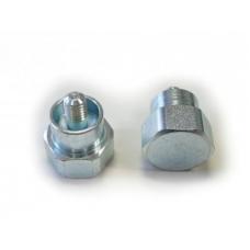 Adaptér strunové hlavy TECOMEC šroub M8 X 1,25 mm levý závit