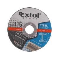 106910, Kotouč řezný na kov Extol Craft 115x1,6x22,2 mm