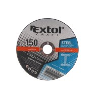 106930, Kotouč řezný na kov Extol Craft 150x1,6x22,2 mm