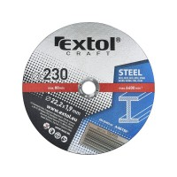 106950, Kotouč řezný na kov Extol Craft 230x1,9x22,2 mm
