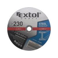 108050, Kotouč řezný na kov Extol Craft 230x2,5x22,2 mm